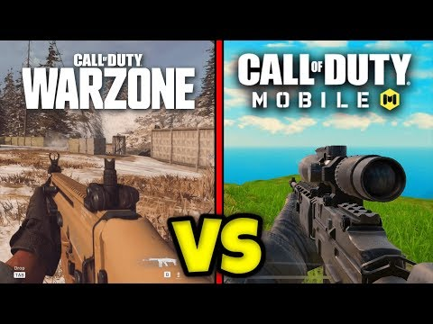 COD Warzone Vs COD Mobile Battle Royale