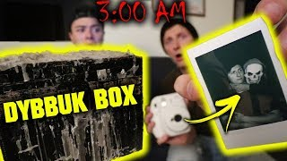 *BIGGEST DYBBUK BOX* PLAYING THE PICTURE GAME AT 3AM!! (SOMETHING ELSE IS WITH US)