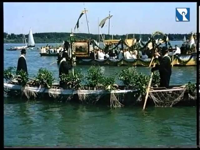 Fronleichnam 1971 - Die letzte Seeprozession auf dem Chiemsee / Frauenwörth