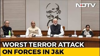 After 40 Soldiers Killed In Kashmir Terror, PM's Security Meet