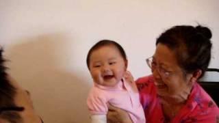 8/10/2009 - Kaylee playing with Grandma and Pak Pak