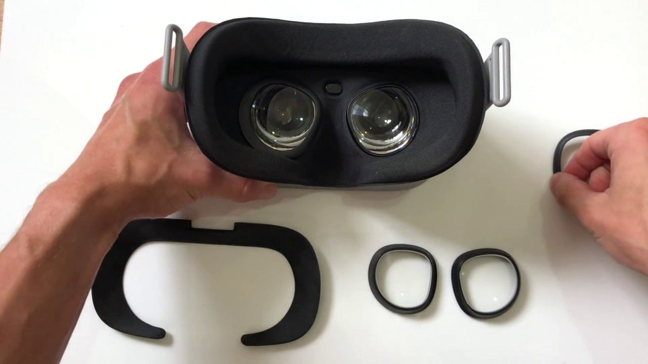 Oculus Go VR Optician Prescription Lens installation