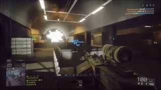 Battlefield 4 Xbox One Gameplay 89 Gun MasterTest Range,Operation Locker