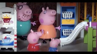 The holiday house of Peppa Pig- peppa pig toys, stories and episodes with toys