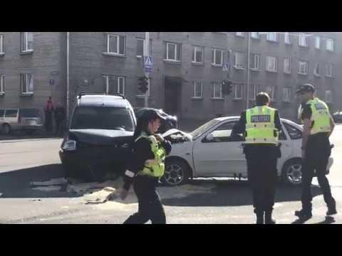 Local News. Liiklusõnnetus Majaka ja Pallasti nurgal seiskas liikluse. Tallinn 07.05.2018