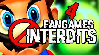 4 FANGAMES INTERDITS PAR NINTENDO