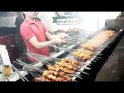 Karachi Silver Spoon Paratha Roll | Liberty Market | Lahore Street Food III