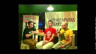 MindenFutás Egyeteme 2013.12.09 Simonyi Balázzsal és Lőw Andrással