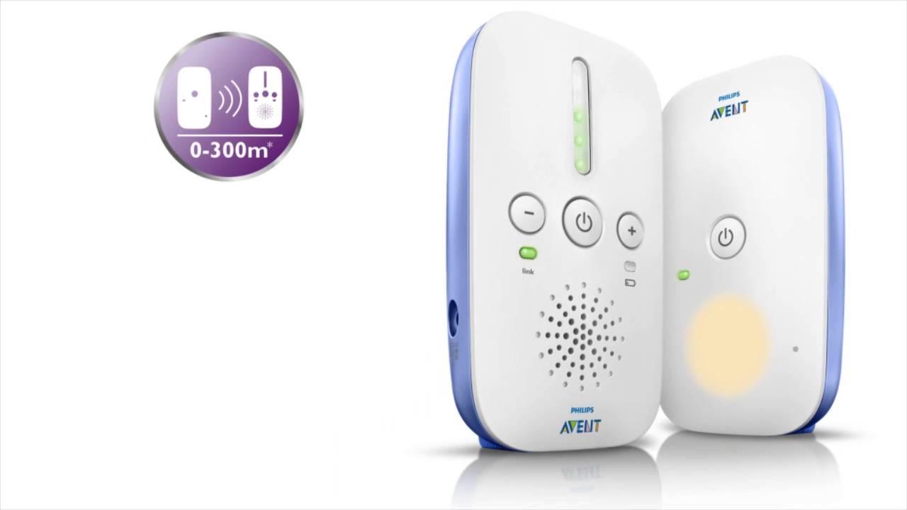 d25562c5d Babyphone DECT rechargeable SCD501/00 de Avent-philips - YouTube