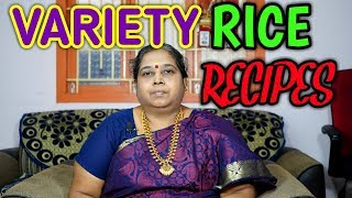 Super Variety Rice Recipes Part-2  in Tamil