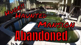 Abandoned Frank Lloyd Wright Mansion, Found Expensive Jewelry, Paranormal activity,  follows us home