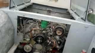 Пуск двигателя ЗМЗ V8 катер Амур(В деле он ведёт себя так _ смотреть тут - http://www.youtube.com/watch?v=4etgcf55WhU., 2012-07-28T10:21:59.000Z)
