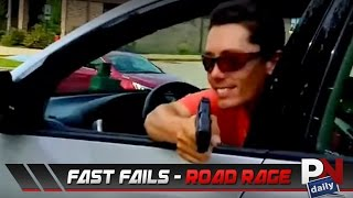 Top 5 Fast Fails: Road Rage Edition!