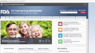 FDA Website Refresh