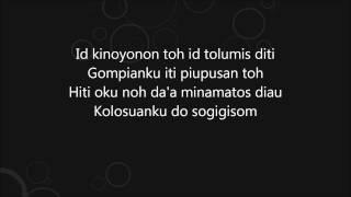 Aznor Jipin - Tupus Auh Nokoguli (Guitar Cover Instrumental)