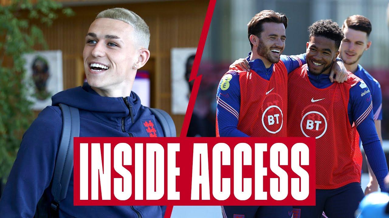Saka's Pranks, St. George's Park Arrivals & Training Mini-Matches! 🦁 | Inside Access | England