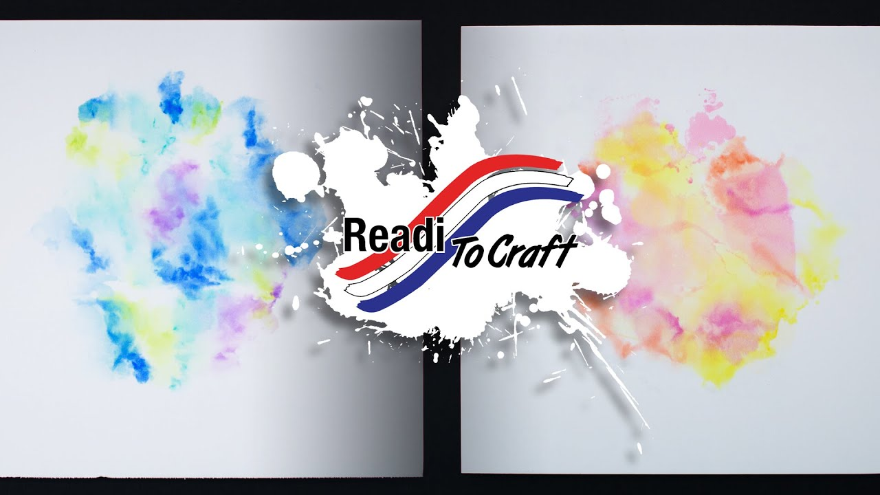 Readi to Craft: Faux Watercolor