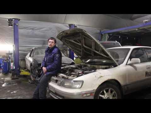 Замена ремня  ГРМ Toyota 3S FE