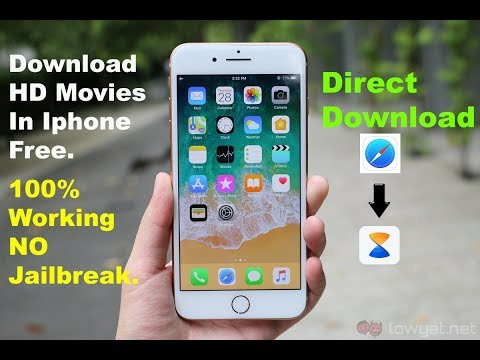 How To Download Movies on Iphone || No Jailbreak || Direct download