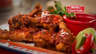 Southern Style Devilled Chicken Drumsticks