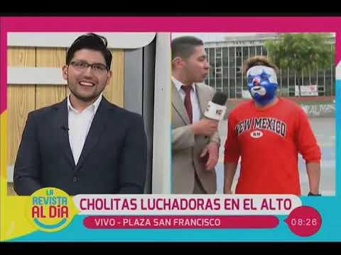 CUMBIA DE HOY - ''CHOLITAS LUCHADORAS'' SE PRESENTARÁN EN EL ALTO