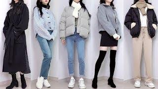 (eng cc) 겨울옷 패션하울 & 초겨울 데일리룩 /…