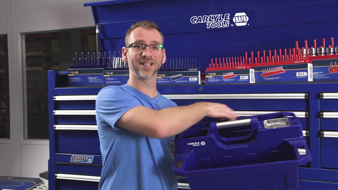 NEW Tool Organization & Storage by Carlyle Tools