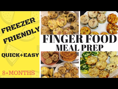 EASY MEAL PREP FOR TODDLERS AND BABIES! [FINGER FOODS]