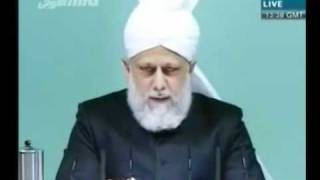 Проповедь Хазрата Мирзы Масрура Ахмада (12-11-10) часть 3