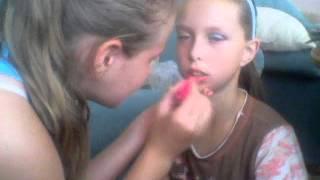 Make-up na štýl Nicki Minaj