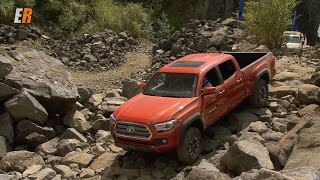 2016 Toyota Tacoma On and Extreme Off-Road Test Drive in Tacoma Washington