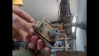 Принцип роботи і розтин накладного замку ШО-40