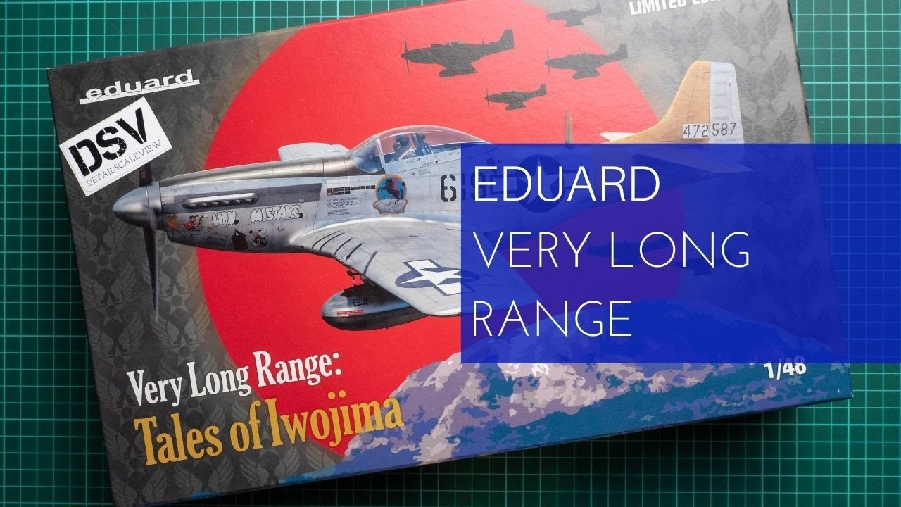 TALES OF IWOJIMA in 1:48 LIMITED!! EDUARD 11142 Very Long Range