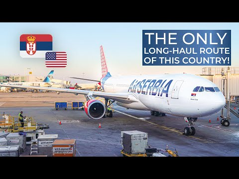 TRIPREPORT | Air Serbia (BUSINESS CLASS) | Airbus A330-200 | Belgrade - New York JFK