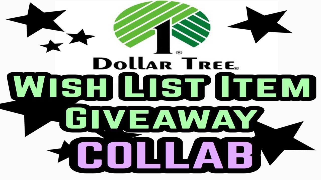 Dollar Tree Must Haves Giveaway Collab | Lots of Wish List Items ...