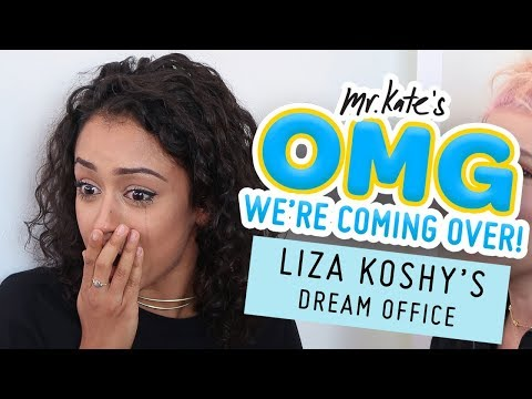 Thumbnail: Liza Koshy's Dream Office Makeover | OMG We're Coming Over | Mr. Kate