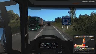 Euro Truck Simulator 2 - Kaunas to Vilnius (Beyond the Baltic Sea) [4K 60FPS]
