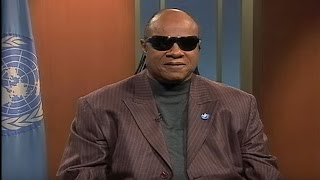 Stevie Wonder supports the UN Convention on the Rights of Persons with Disabilities thumbnail