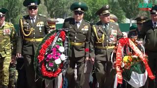 Митинг-реквием с участием ветеранов-силовиков и казаков Семиреченского казачьего войска