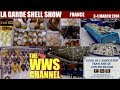 Thousands of seashells ! La Garde Shell Show 2018 (France) Sea shell Collection