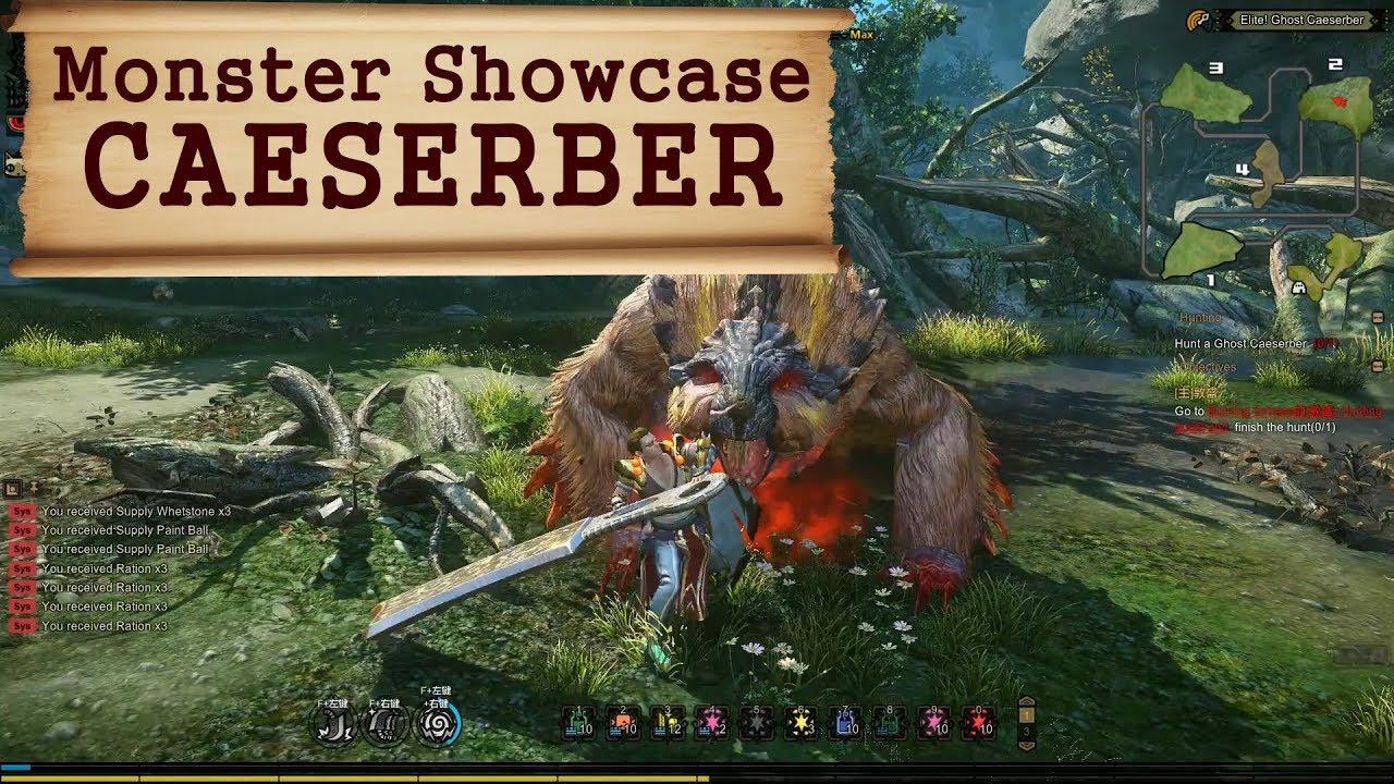 Caeserber - Monster Showcase - Monster Hunter Online