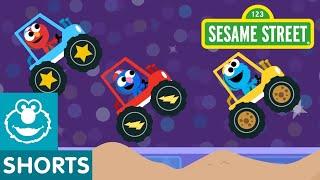 Sesame Street: Monster Trucks Track | Magical Car Races #7