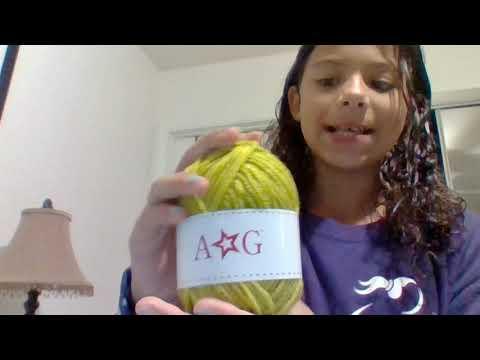 Knitting Patterns Scarves American Girl Doll Scarf Knitting Kit