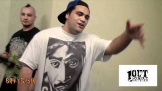 ONE OUT STREET BATTLES 4 - TOKIE KONEZ vs STUNTMAN (battle six)