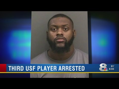 USF football player arrested for credit card fraud, theft