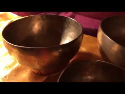 Chakra sæt 7 matte syngeskåle by Unisound