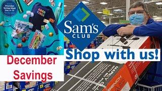 Sam's Club Shopping Trip HAUL - WE FOUND ONE! Upcoming DECEMBER 2020 INSTANT SAVINGS & SAVINGS WEEK