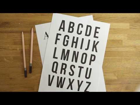 HOW TO START HAND LETTERING