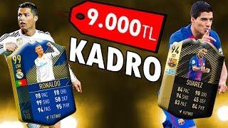 9.000TL lik  Efsane Kadro!