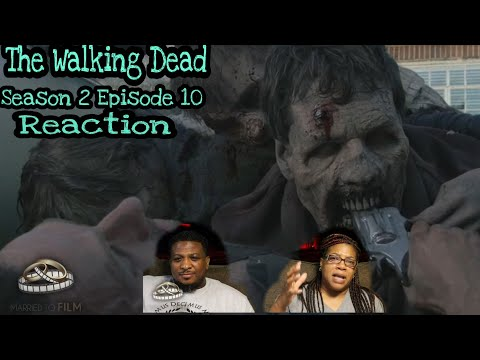 The Walking Dead  REACTION  Season 2 Episode 10  18 Miles Out